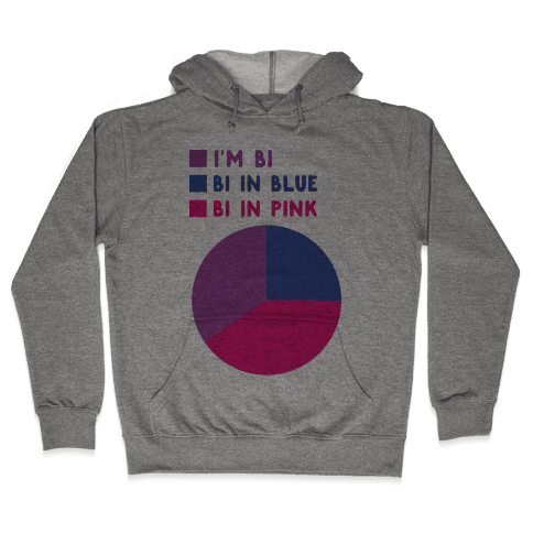Bisexual Chart Hooded Sweatshirt