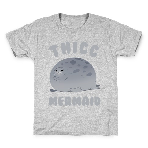 Thicc Mermaid Kids T-Shirt