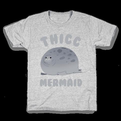 Thicc Mermaid Kids T-Shirt