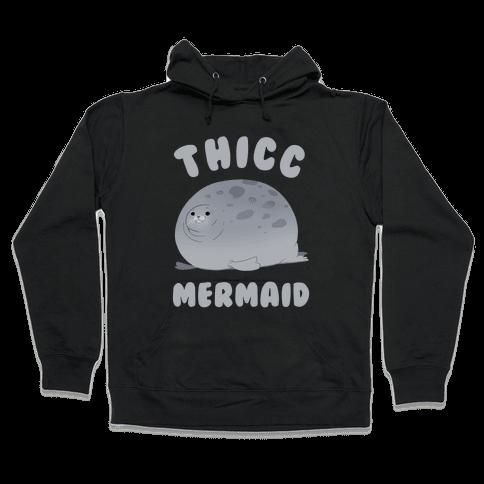 Thicc Mermaid Hooded Sweatshirt