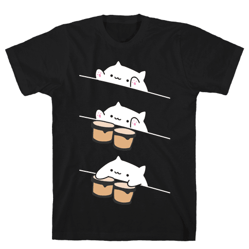 Bongo Cat Mens T-Shirt