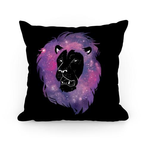 Galaxy Lion Pillow