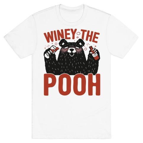 Winey The Pooh T-Shirt