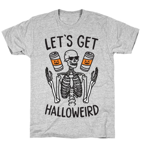 Let's Get Halloweird Mens T-Shirt