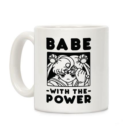 Babe With the Power Sailor Moon Coffee Mug