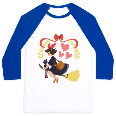 Delivery Witch - Kiki Baseball Tee