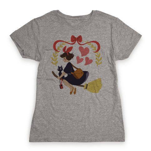 Delivery Witch - Kiki  Womens T-Shirt
