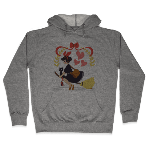 Delivery Witch - Kiki  Hooded Sweatshirt