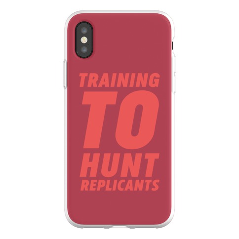 Training To Hunt Replicants Phone Flexi-Case