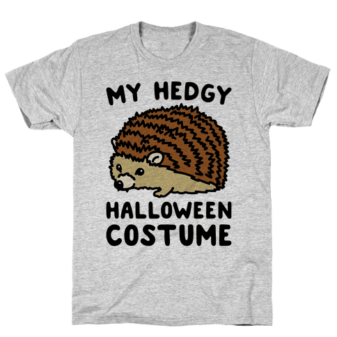 My Hedgy Halloween Costume Hedgehog  Mens T-Shirt