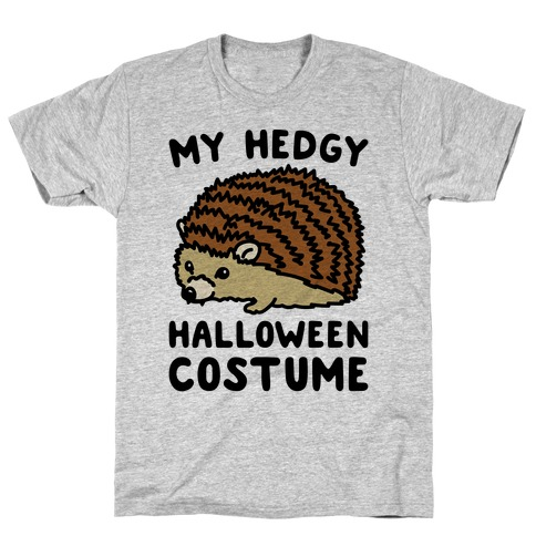 My Hedgy Halloween Costume Hedgehog  T-Shirt
