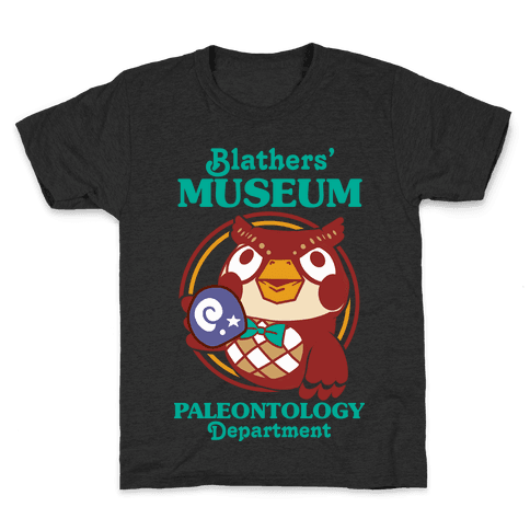 Blathers' Museum Paleontology Department Kids T-Shirt