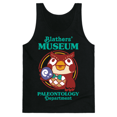 Blathers' Museum Paleontology Department Tank Top