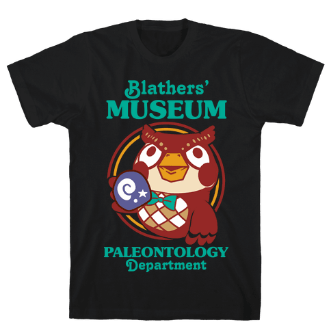 Blathers' Museum Paleontology Department Mens/Unisex T-Shirt