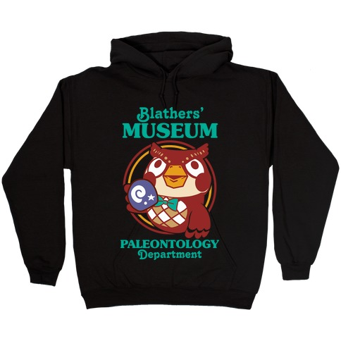 Blathers' Museum Paleontology Department Hooded Sweatshirt