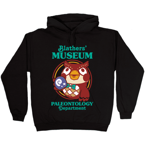 Blathers' Museum Paleontology Department Hooded Sweatshirt