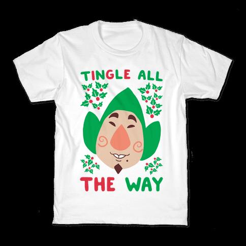 Tingle All the Way Kids T-Shirt