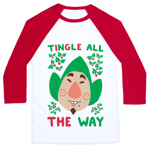 Tingle All the Way Baseball Tee