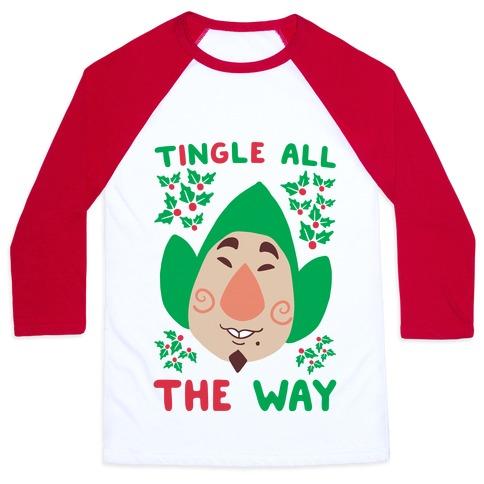 Tingle All the Way Baseball Tee