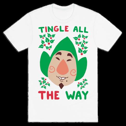 Tingle All the Way Mens T-Shirt