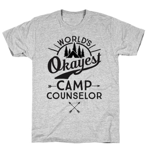 World's Okayest Camp Counselor T-Shirt