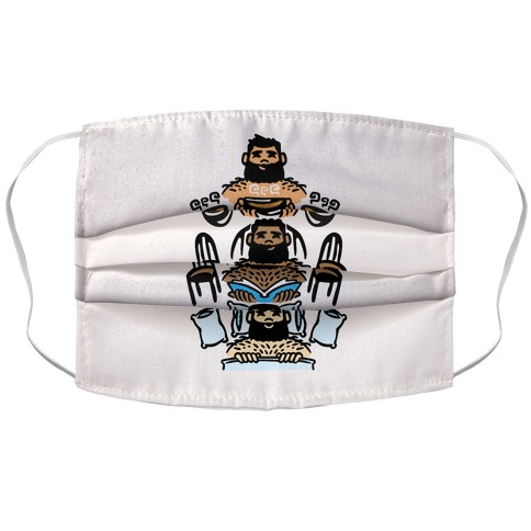 The 3 Bears Accordion Face Mask
