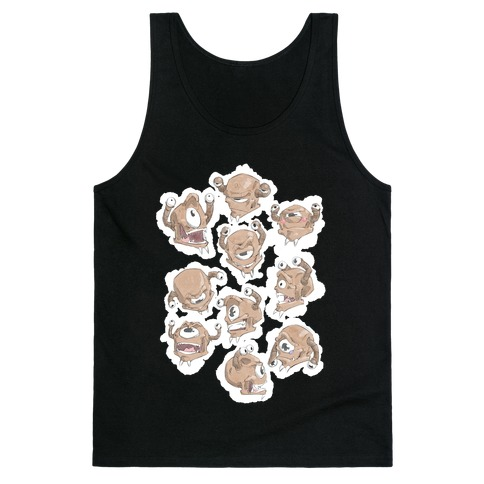 Beholder Expression Study Tank Top