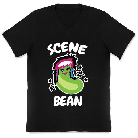 Scene Bean V-Neck Tee Shirt