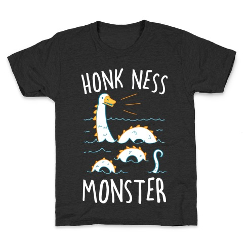 Honk Ness Monster Kids T-Shirt