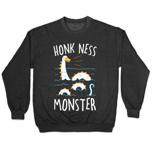 Honk Ness Monster Pullover