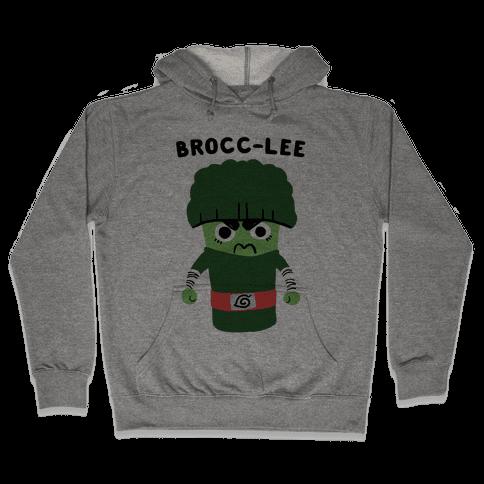 Brocc-Lee - Rock Lee Hooded Sweatshirt