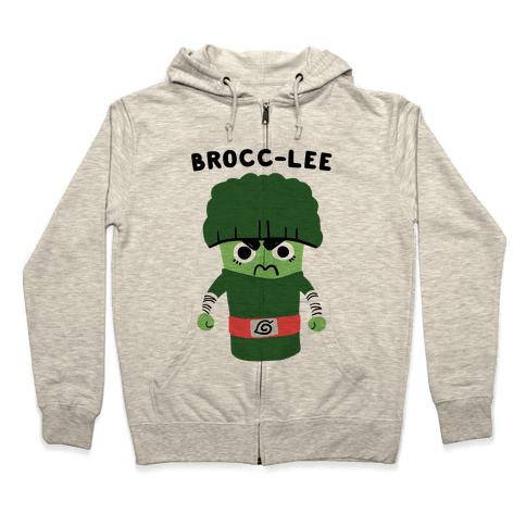 Brocc-Lee - Rock Lee Zip Hoodie