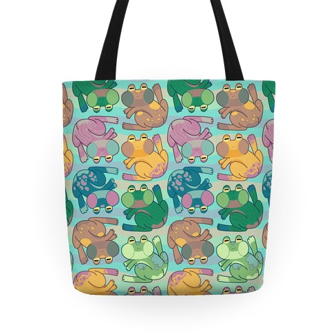 Cool Frogs Tote