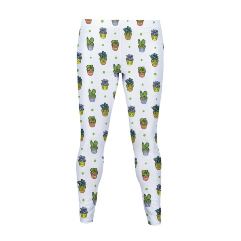 Succulent Pattern Women's Legging