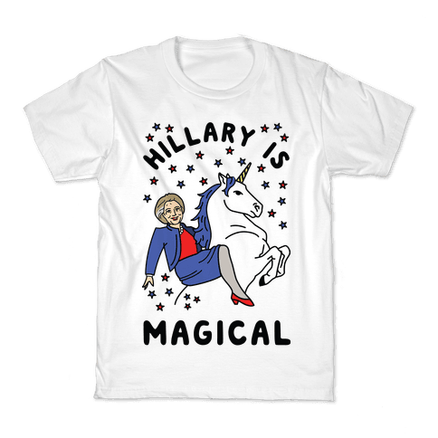 Hillary Is Magical Kids T-Shirt