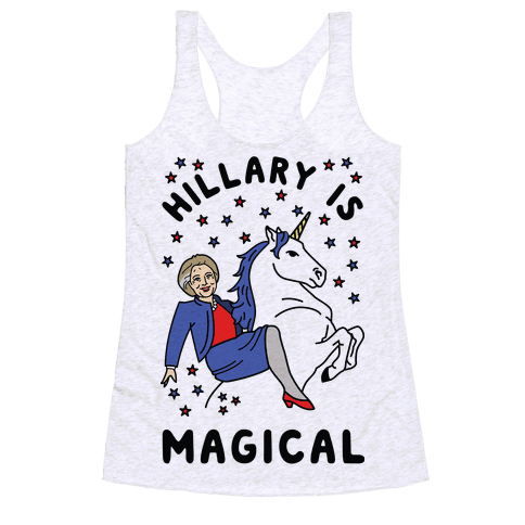 Hillary Is Magical Racerback Tank Top