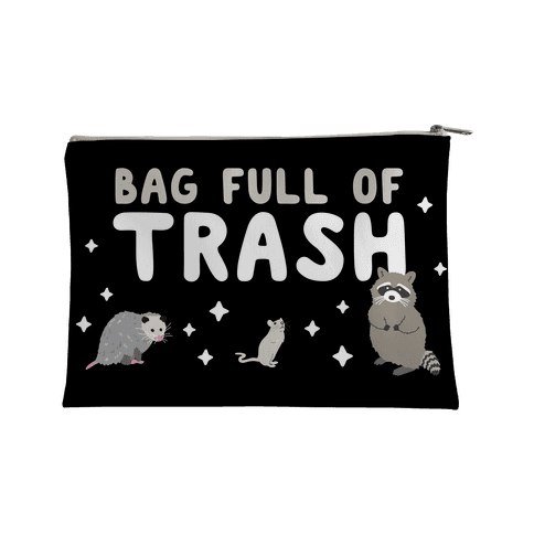 Bag Full Of Trash Accessory Bag
