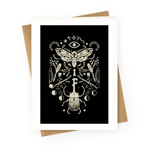 Occult Musings Greeting Card