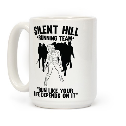 Silent Hill Running Team Coffee Mug