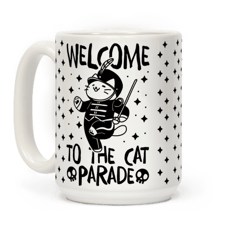 Welcome to the Cat Parade Coffee Mug