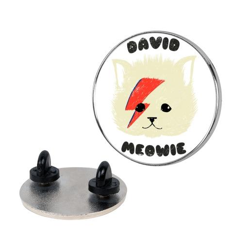 David Meowie pin