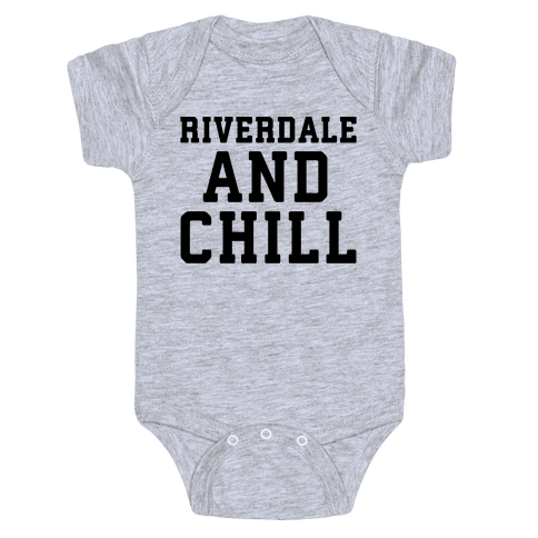 Riverdale and Chill Parody Baby Onesy