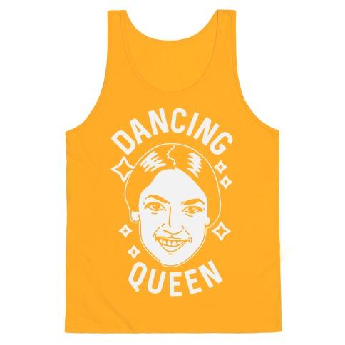 Alexandria Ocasio-Cortez Dancing Queen Tank Top