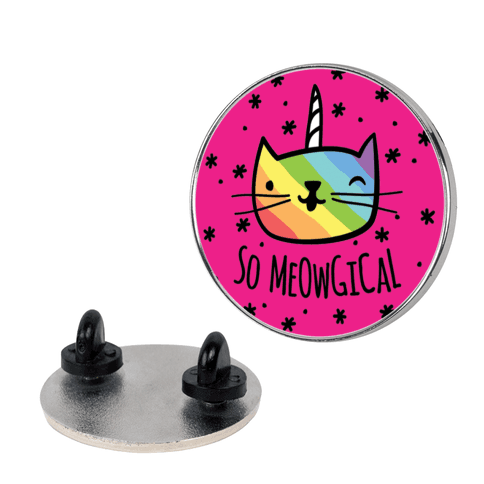 So Meowgical pin