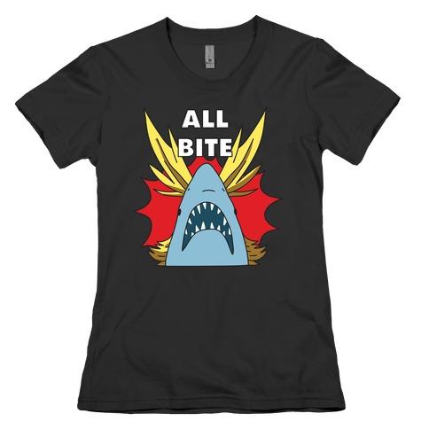 All Bite Shark Womens T-Shirt