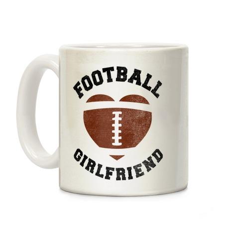 Football Girlfriend Coffee Mug