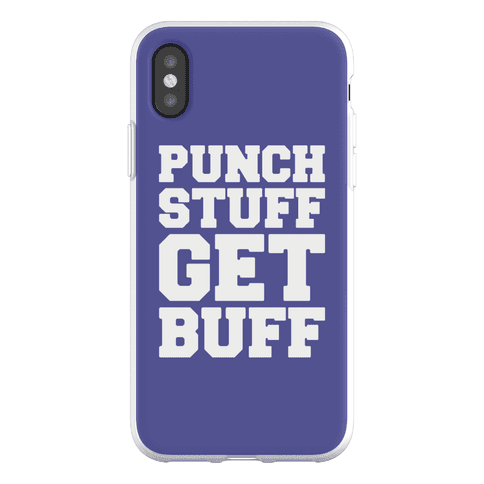 Punch Stuff Get Buff Phone Flexi-Case