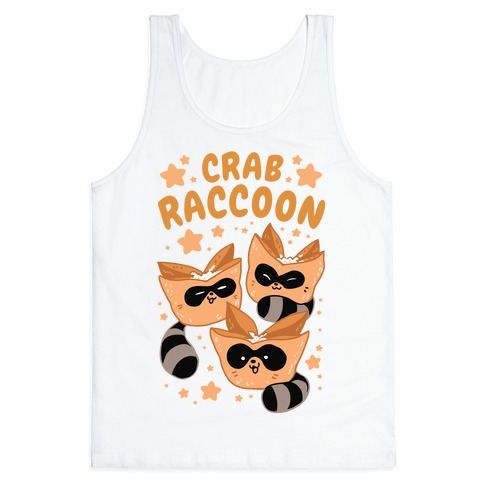 Crab Raccoon Tank Top