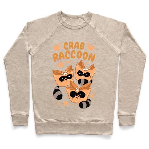 Crab Raccoon Pullover