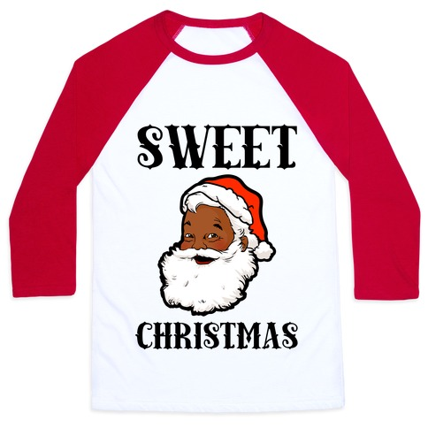 Sweet Christmas Baseball Tee